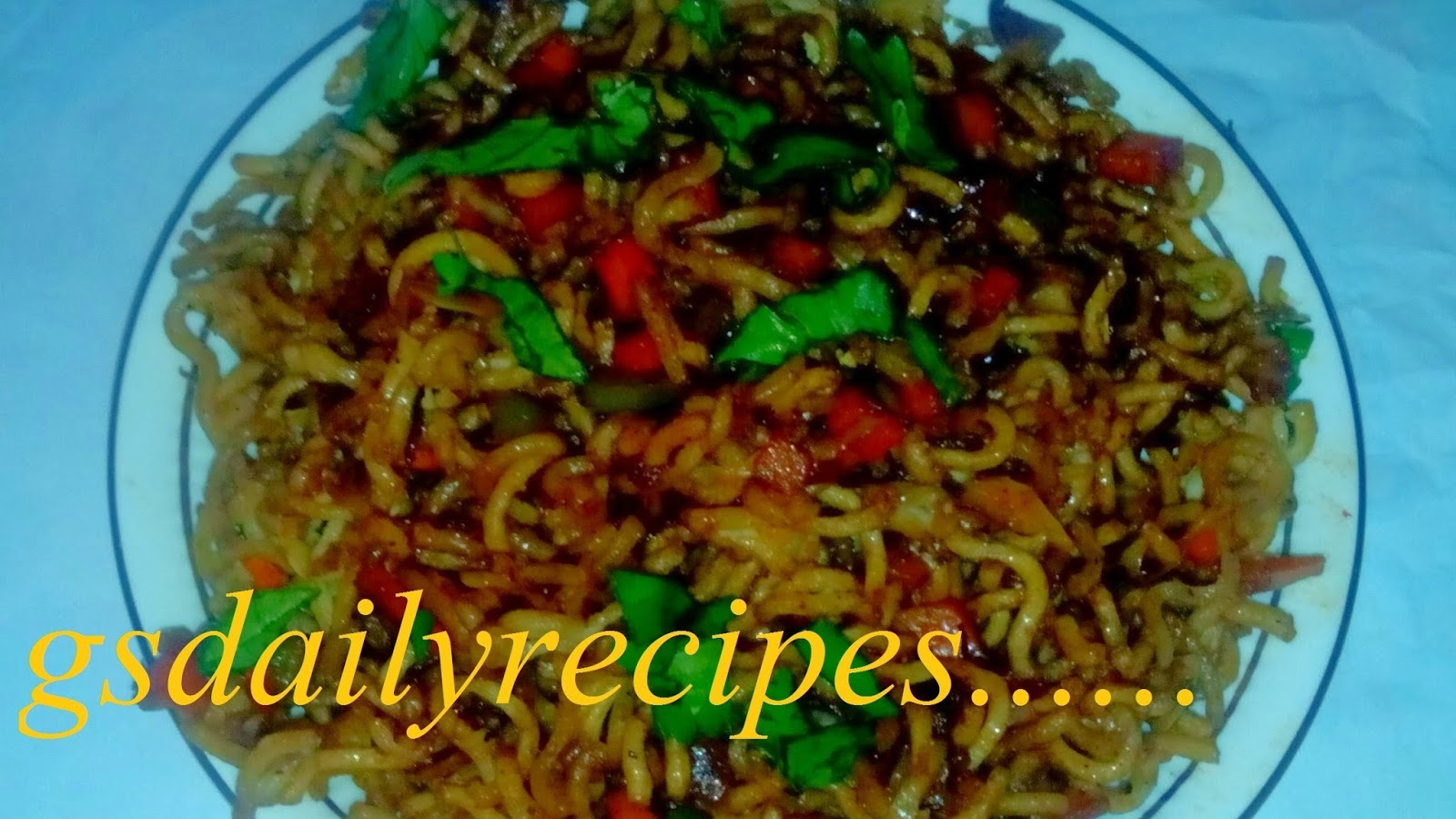 chinese bhel hindi