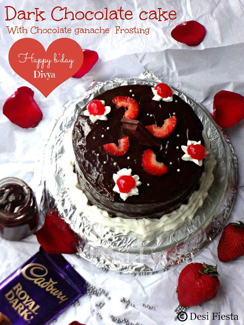 for making simple home made eggless cake without microwave