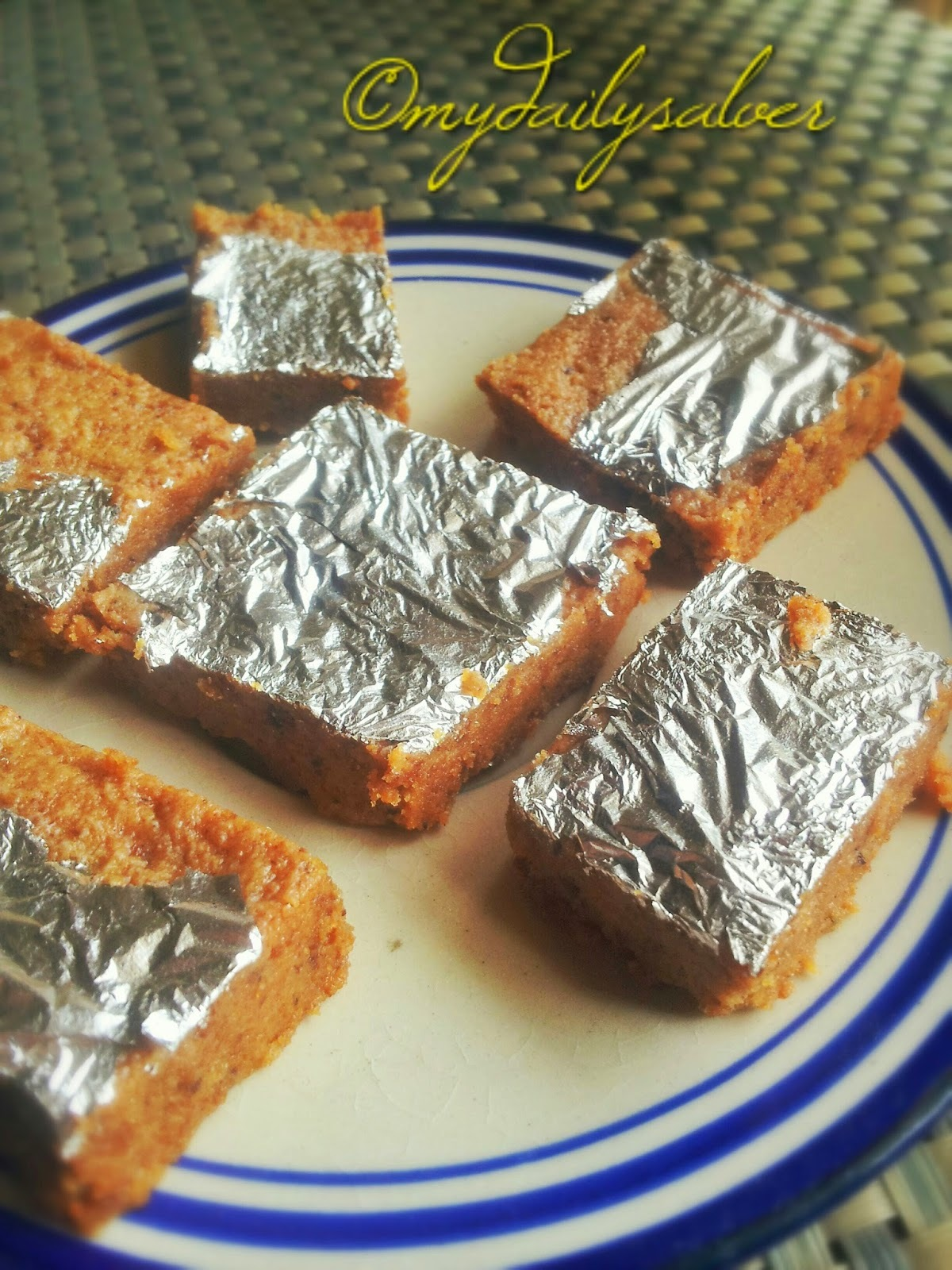 what to do leftover barfi