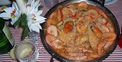 arroz marisco portugues