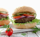 hamburger di verdure light