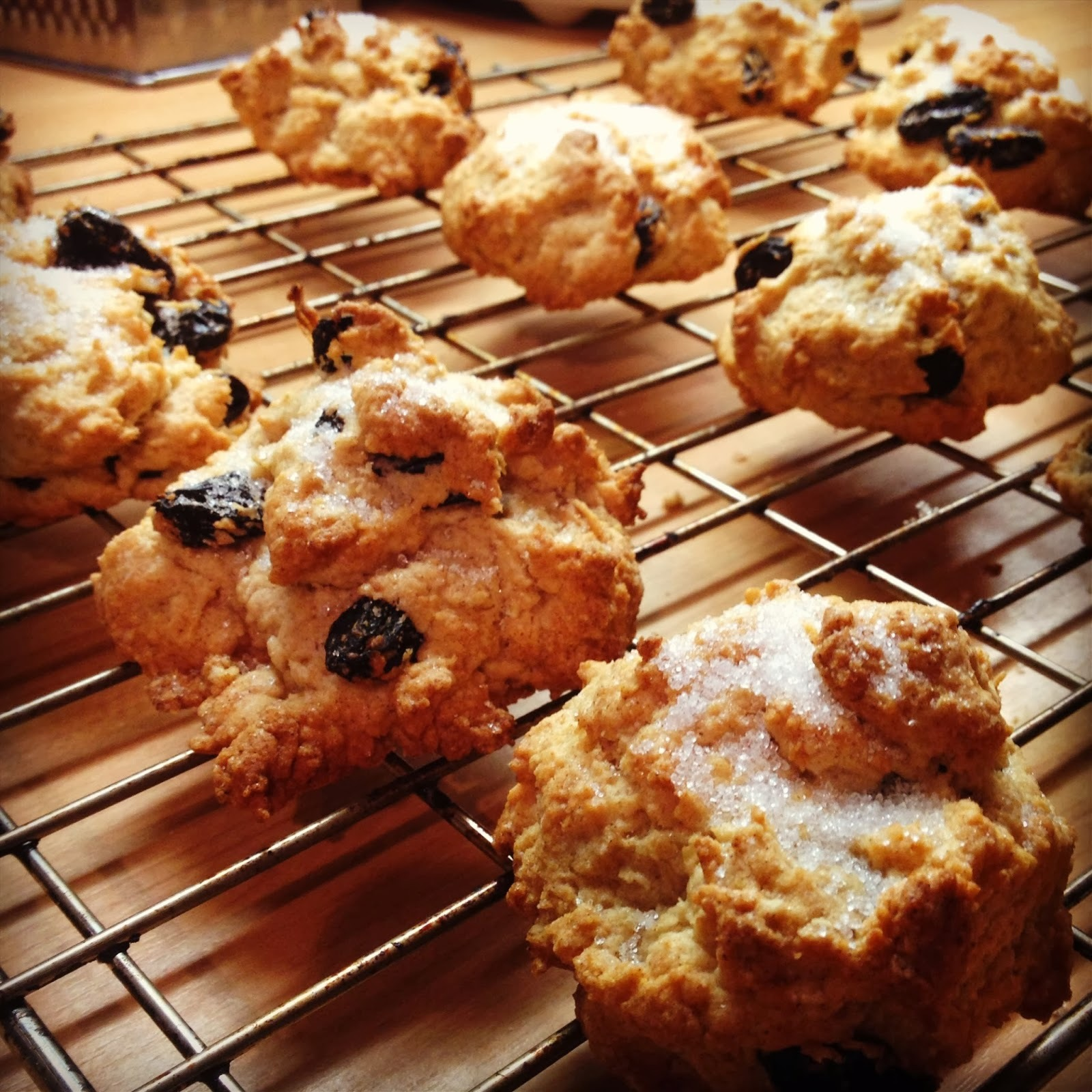 how to make vegan rock cakes