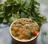 veg gravy for chapati