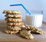 no bake blonde oatmeal cookies