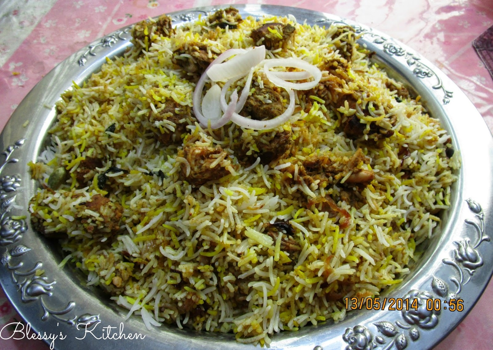 dry side dishes for chicken biryani