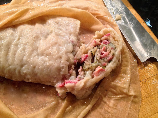bacon and onion suet pudding