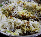 how to prepare chicken biryani with basmati rice