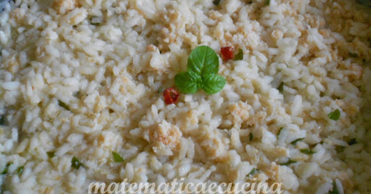 Ricette di risotto con polpa di granchio in scatola mytaste for Cucinare granchio