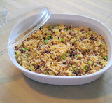 what to do with leftover dirty rice