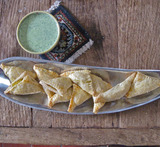 vegetable samosa madhur jaffrey