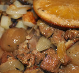 diced pork casserole slow cooker