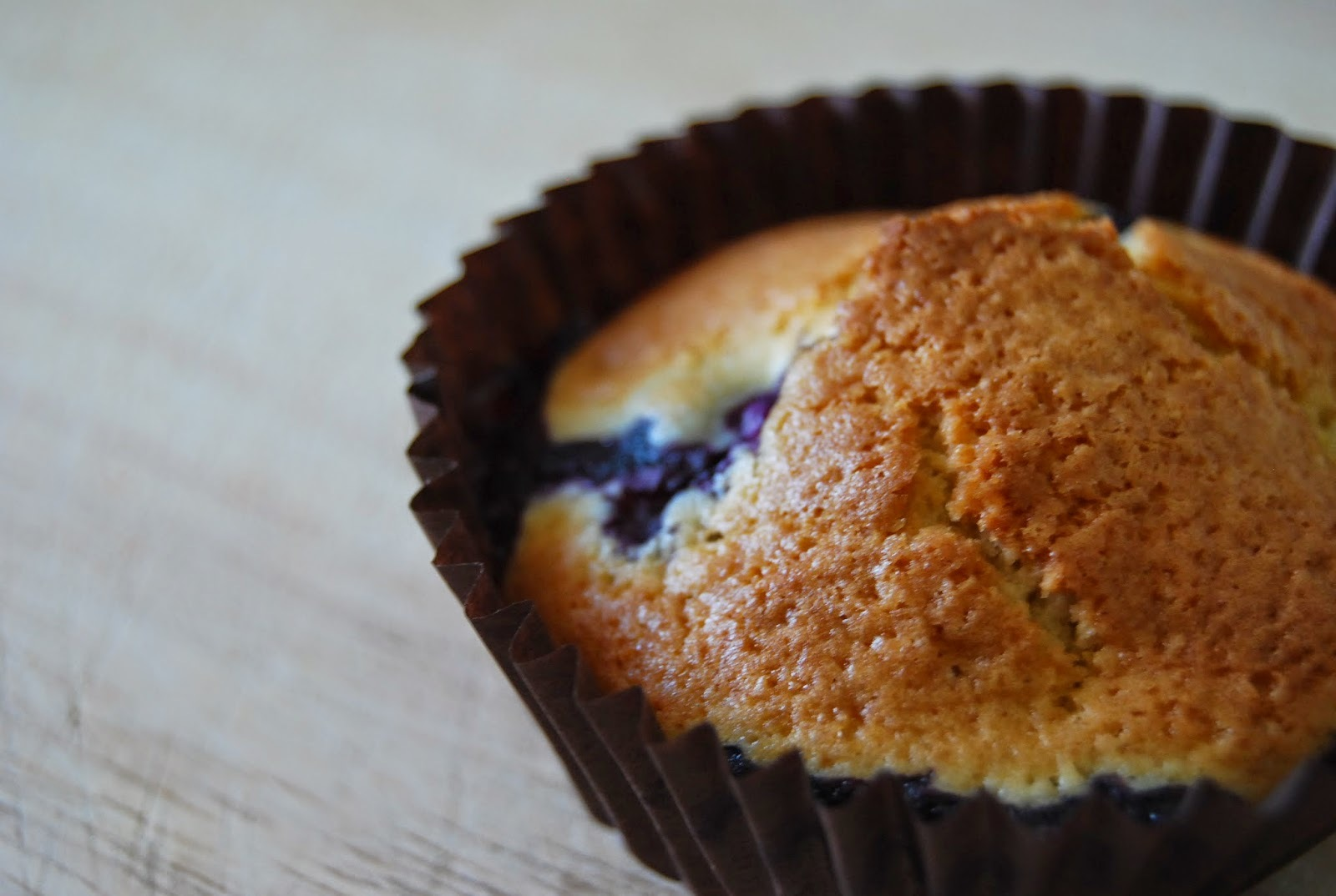 mary berry blueberry and vanilla muffins