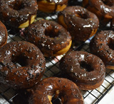 doughnuts recipe eggless without yeast