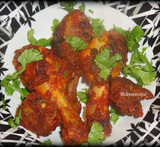 tandoori chicken in electric tandoor