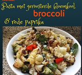 vegetarische pasta met broccoli