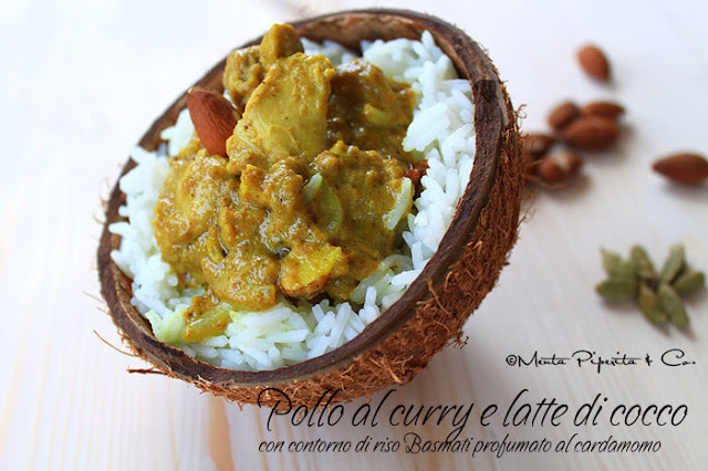 pollo al curry senza latte
