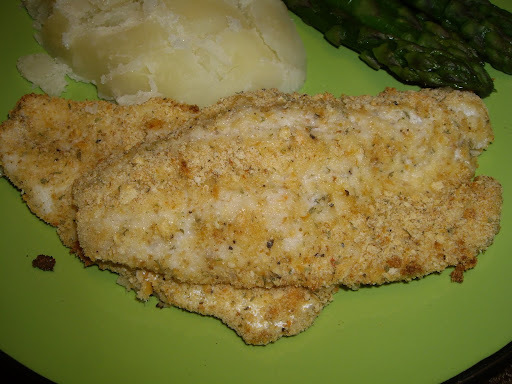 oven baked pickerel