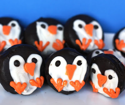 penguin cookies oreos