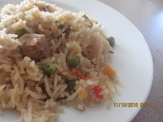 vegetable brinji rice in tamil