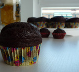 muffins de chocolate facil