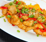 honey chilli cauliflower