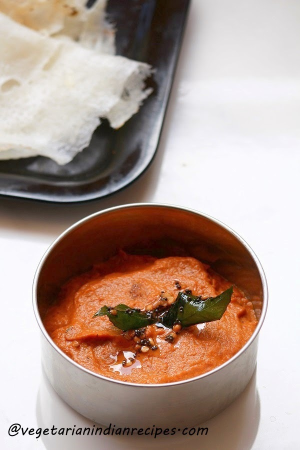 chutney for dosa without coconut