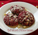 panera bread red velvet cookie