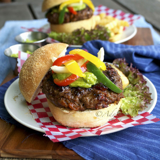 how to make stewed burgers