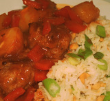 lorraine pascale sweet and sour pork balls