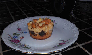 muffins med marcipan