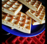 waffles dulces