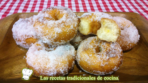 ingredientes rosquillas fritas