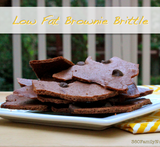 brownie brittle using brownie mix