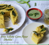yellow chutney with dhokla in hindi