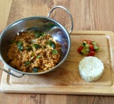 red pepper and courgette chutney
