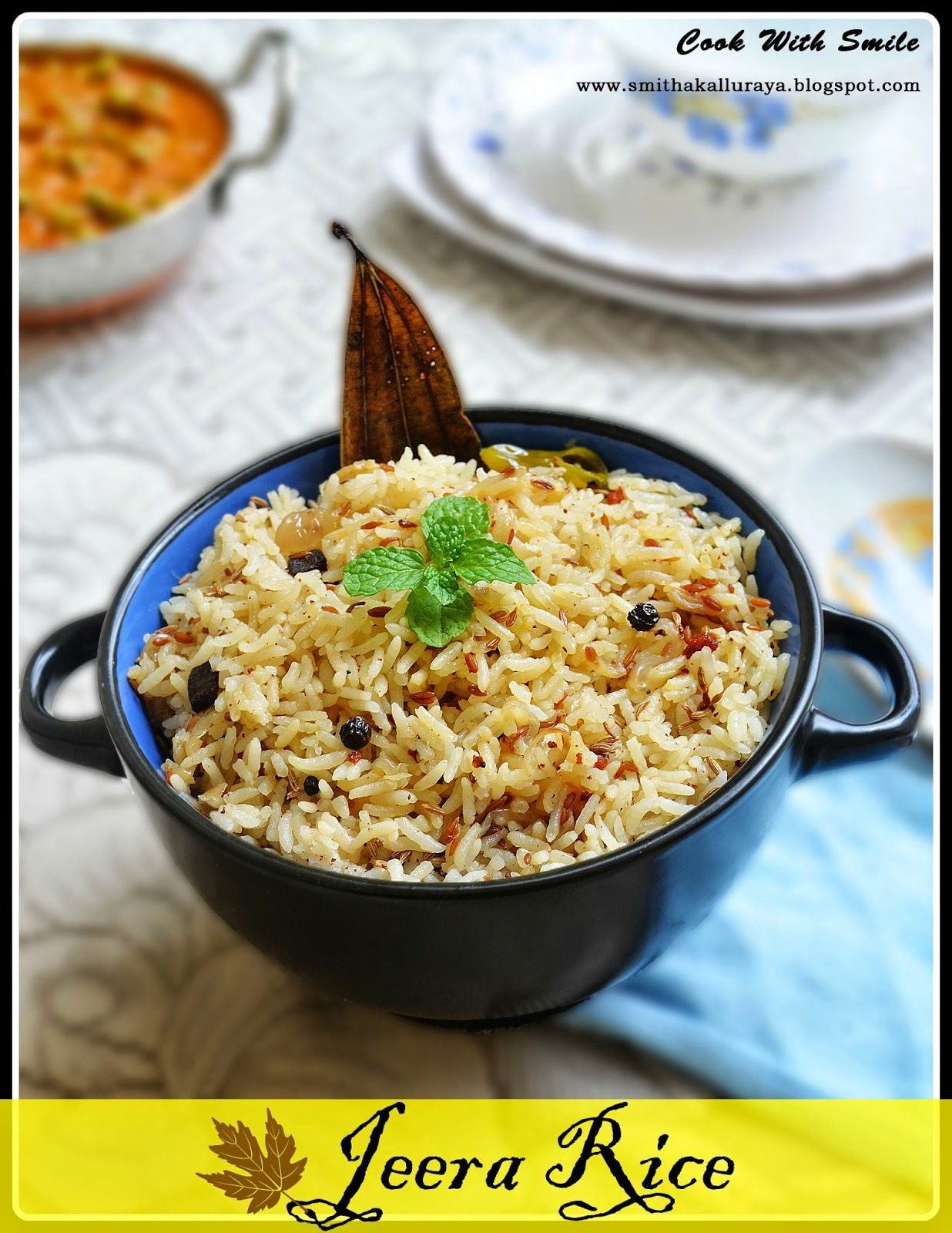 side dish for jeera rice