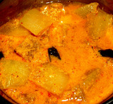white pumpkin curry indian