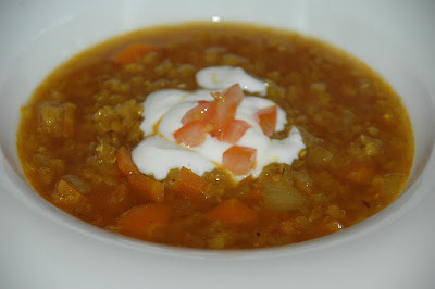 indisk linsesuppe