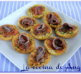 canapes de anchoas