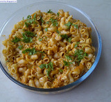 how to cook macaroni indian style