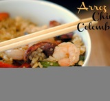 arroz con pollo con raices chinas