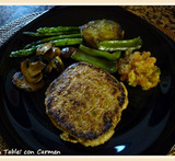 hamburguesa vegetal thermomix