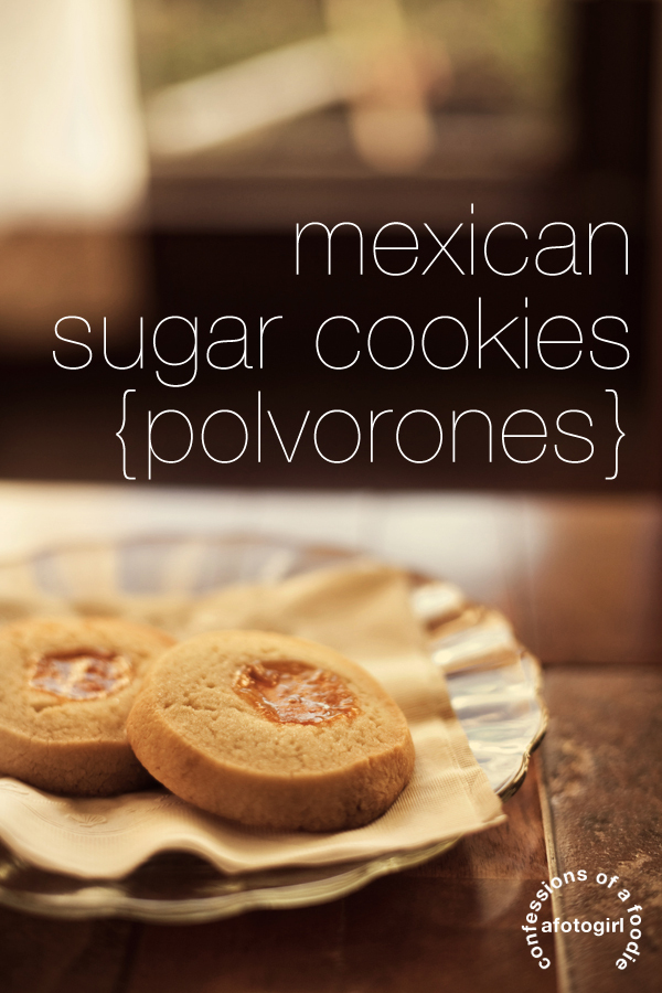pan de polvo mexican shortbread