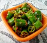 lemon with green chilli pickle in marathi