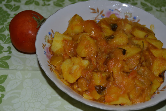 tomato fry for chapathi