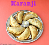 how to make karanji crispy