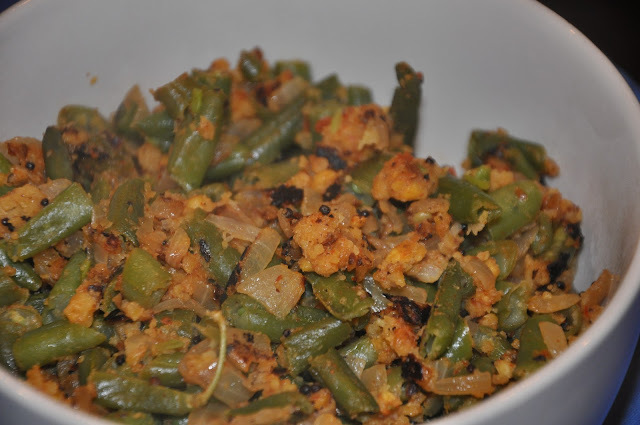 tamil green bean curry