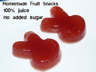 homemade fruit snacks pectin