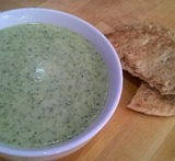 broccoli and stilton soup without a blender
