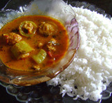 snake gourd curry for rice